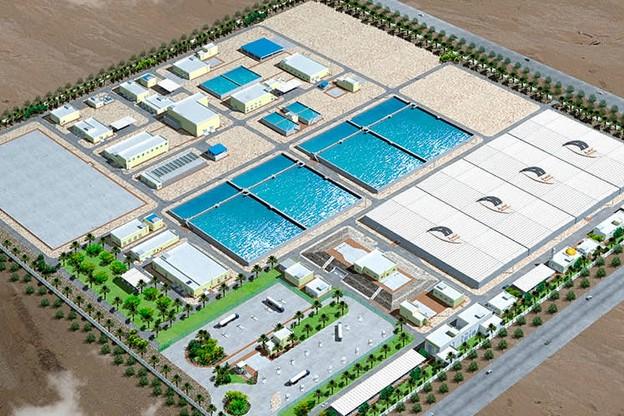 Dhakira Sewage Treatment Plant
