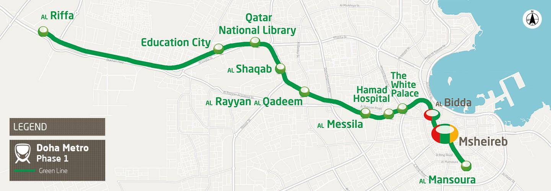 Doha Metro - Greenline Underground project